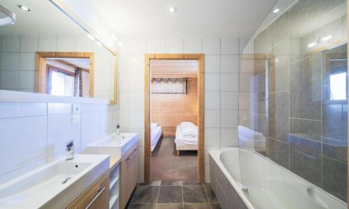 Wakacje w górach Apartament 4 pokojowy 8 osób (Prestige 66m²-2) - Résidence les Portes du Grand Massif - Maeva Home - Flaine - Na zewnątrz latem
