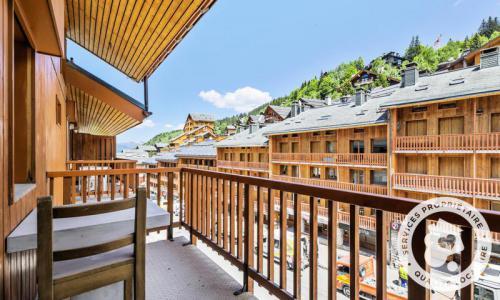 Vacances en montagne Appartement 2 pièces 4 personnes (Sélection 24m²-6) - Résidence les Ravines - Maeva Home - Méribel - Extérieur été