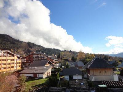 Location au ski Appartement duplex 2 pièces 6 personnes (31) - Residence Les Rhodos - Les Carroz - Extérieur été