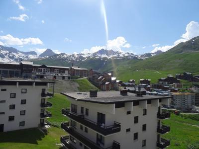 Alquiler al esquí Apartamento 4 piezas para 8 personas - Résidence les Roches Rouges A ou B - Tignes - Verano