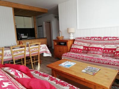 Vacances en montagne Appartement 4 pièces 8 personnes - Résidence les Roches Rouges A ou B - Tignes - Séjour