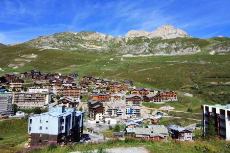 Rent in ski resort Studio sleeping corner 4 people (C6CL) - Résidence les Roches Rouges C - Tignes - Summer outside