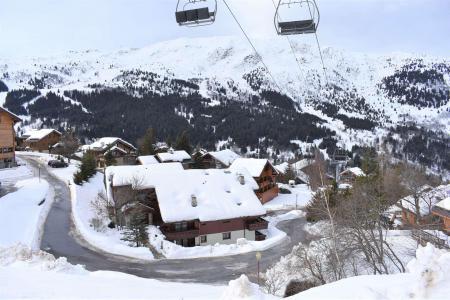 Vacances en montagne Studio 3 personnes (C2) - Résidence les Sapineaux - Méribel - Extérieur été