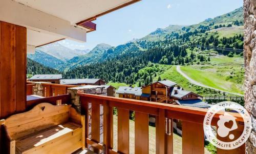 Location au ski Appartement 2 pièces 6 personnes (Prestige 30m²-8) - Résidence les Sentiers du Tueda - Maeva Home - Méribel-Mottaret - Extérieur été