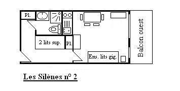 Location Méribel-Mottaret : Résidence les Silènes été