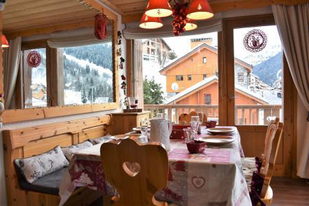 Vacances en montagne Appartement 3 pièces 7 personnes (16) - Résidence les Silènes - Méribel - Logement