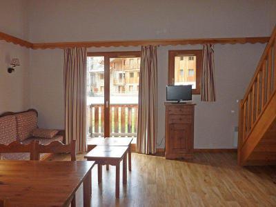 Holiday in mountain resort 3 room duplex apartment 9 people (496) - Résidence les Silènes - Mélèzes d'Or - Les Orres - TV