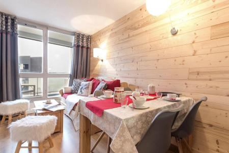 Holiday in mountain resort 2 room apartment 4 people (204) - Résidence les Soldanelles A - Les Menuires - Accommodation