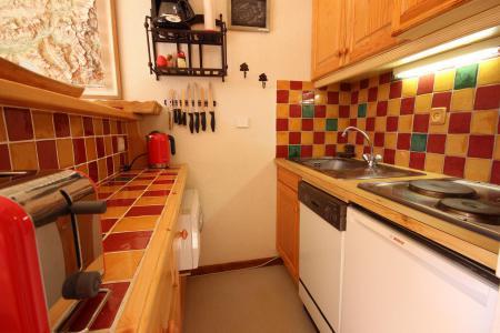 Vacances en montagne Studio coin montagne 4 personnes (38) - Résidence les Soldanelles - Peisey-Vallandry - Cuisine