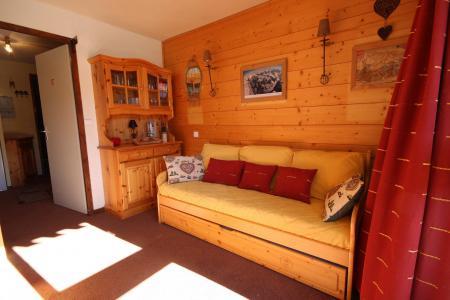 Vacances en montagne Studio coin montagne 4 personnes (38) - Résidence les Soldanelles - Peisey-Vallandry - Séjour