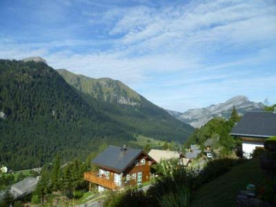 Rent in ski resort 2 room apartment sleeping corner 5 people (004) - Résidence les Sorbiers - Châtel - Summer outside
