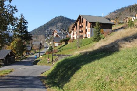 Rent in ski resort 3 room apartment 6 people (009) - Résidence les Sorbiers - Châtel - Summer outside