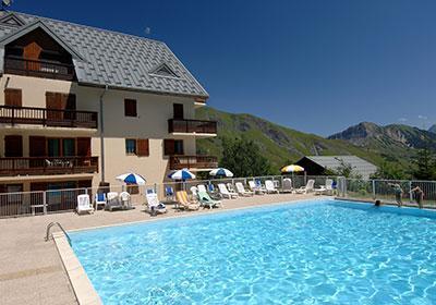 Location au ski Residence Les Sybelles - Saint Sorlin d'Arves - Extérieur été