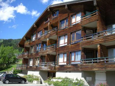 Location au ski Résidence les Tartifles - Châtel - Extérieur été