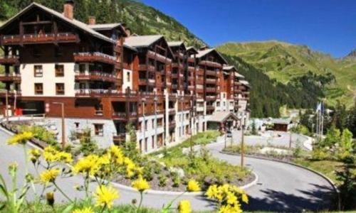 Wakacje w górach Apartament 3 pokojowy 6 osób (Sélection 42m²-5) - Résidence les Terrasses d'Eos - Maeva Home - Flaine - Na zewnątrz latem