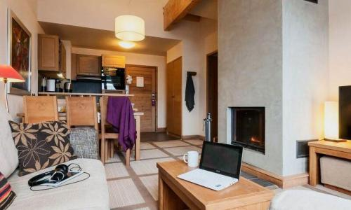 Wakacje w górach Apartament 3 pokojowy 6 osób (Prestige 54m²) - Résidence les Terrasses d'Eos - Maeva Home - Flaine - Na zewnątrz latem
