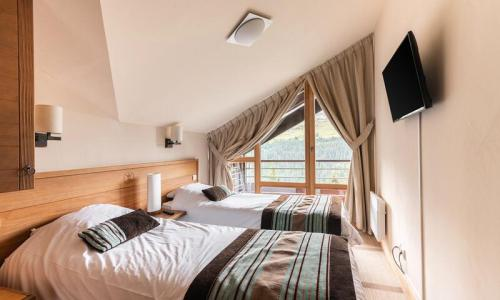 Location au ski Appartement 3 pièces 6 personnes (Prestige 54m²) - Résidence les Terrasses d'Eos - Maeva Home - Flaine - Extérieur été