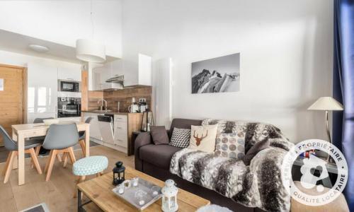 Wakacje w górach Apartament 3 pokojowy 6 osób (Sélection 42m²-5) - Résidence Les terrasses d'Eos - Maeva Particuliers - Flaine - Pokój gościnny
