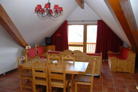Vacances en montagne Résidence les Terrasses de la Bergerie - Orcières Merlette 1850 - Salle à manger