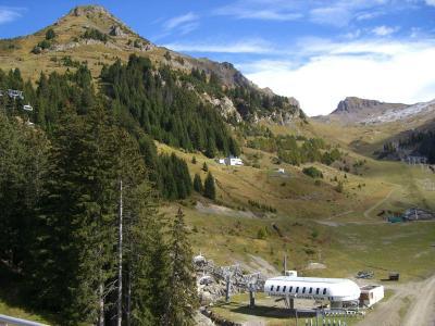 Location au ski Résidence les Terrasses de Veret - Flaine - Extérieur été