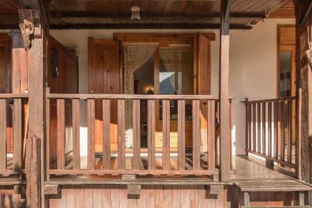 Location au ski Studio coin montagne 4 personnes (449) - Residence Les Toits Blancs - Montgenèvre - Extérieur été