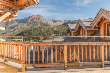 Location au ski Studio coin montagne 5 personnes (453) - Residence Les Toits Blancs - Montgenèvre - Extérieur été