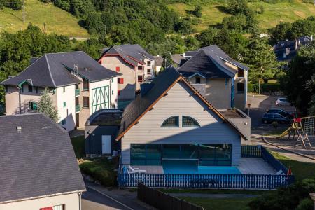 Vacances en montagne Résidence les Trois Vallées - Saint Lary Soulan - Extérieur été