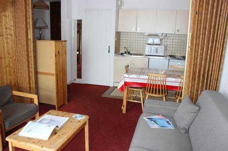 Vakantie in de bergen Appartement 2 kamers 4 personen (908) - Résidence les Trois Vallées - Val Thorens - Woonkamer