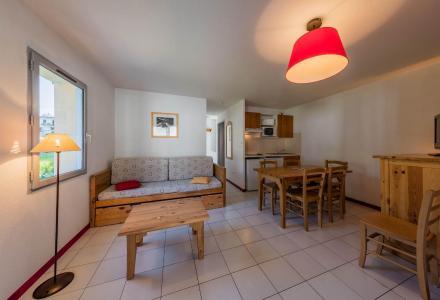 Vacances en montagne Résidence les Trois Vallées - Saint Lary Soulan - Salle à manger