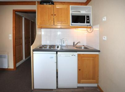 Holiday in mountain resort 2 room apartment 4 people (1116) - Résidence les Valmonts - Les Menuires - Kitchenette