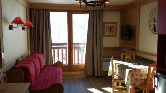 Holiday in mountain resort 2 room apartment 4 people (1215) - Résidence les Valmonts - Les Menuires - Living room