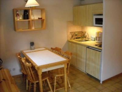 Vacances en montagne Studio cabine 4 personnes (06B) - Résidence les Voinettes - Châtel - Coin repas
