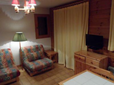 Vacances en montagne Studio cabine 4 personnes (06B) - Résidence les Voinettes - Châtel - Séjour