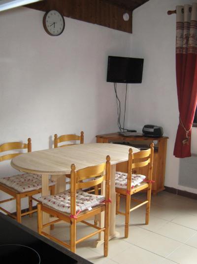 Vacances en montagne Studio cabine 4 personnes (28A) - Résidence les Voinettes - Châtel - Coin repas