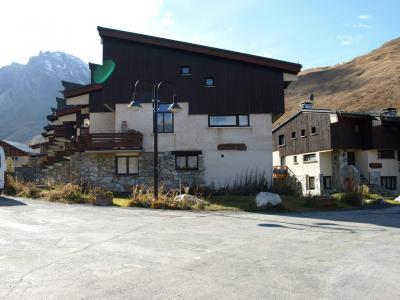 Location au ski Residence Les Volnets V - Tignes - Extérieur été