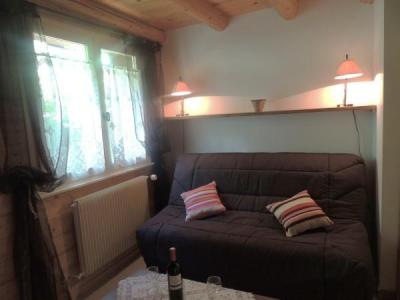 Holiday in mountain resort 2 room duplex apartment 6 people (003) - Résidence Lou R'Bat Pays - Le Grand Bornand - Bed-settee