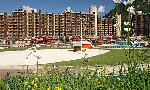 Location au ski Residence Maeva Bellecote - La Plagne - Extérieur été