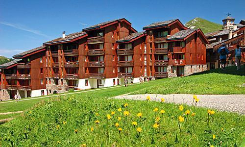 Location au ski Residence Maeva Emeraude - La Plagne - Extérieur été