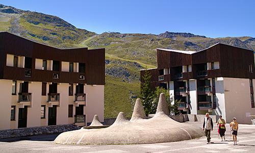 Location au ski Residence Maeva Les Combes - Les Menuires - Extérieur été