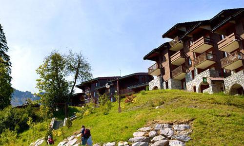 Location au ski Residence Maeva Planchamp Et Mottet - Valmorel - Extérieur été