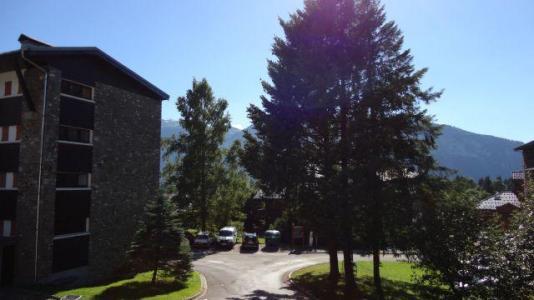 Location au ski Studio cabine 5 personnes (02) - Residence Marcelly - Les Carroz - Extérieur été