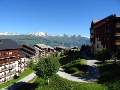 Location au ski Studio 4 personnes (420) - Résidence Michailles - Peisey-Vallandry - Extérieur été