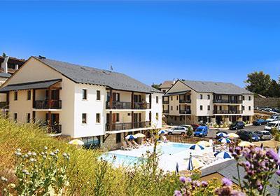 Location au ski Residence Mille Soleils - Font Romeu - Extérieur été