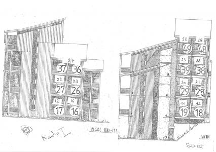 Holiday in mountain resort Studio mezzanine 4 people (117) - Résidence Mirantin 1 - Les Arcs