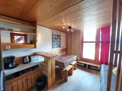 Vacances en montagne Studio mezzanine 3 personnes (236) - Résidence Mirantin 2 - Les Arcs - Canapé