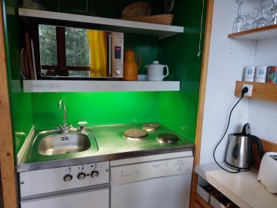 Vacances en montagne Studio mezzanine 5 personnes (224) - Résidence Mirantin 2 - Les Arcs - Cuisine