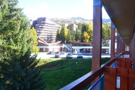 Vacances en montagne Studio coin montagne 4 personnes (610) - Résidence Miravidi - Les Arcs - Extérieur été