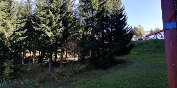 Location au ski Studio coin montagne 4 personnes (106) - Résidence Miravidi - Les Arcs - Extérieur été