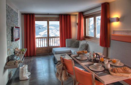 Vacances en montagne Appartement 3 pièces 4 personnes - Résidence Montana Plein Sud - Val Thorens - Logement