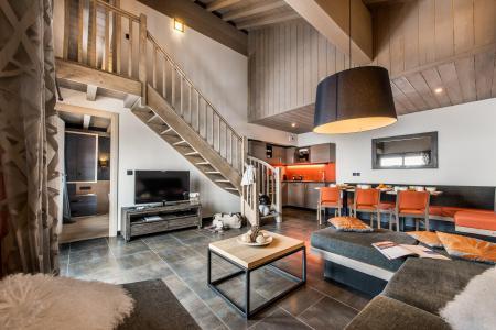Vacances en montagne Appartement 4 pièces mezzanine 8 personnes - Résidence Montana Plein Sud - Val Thorens - Séjour
